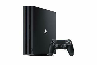 Sony PLAYSTATION 4 pro 1TB Console con Red Dead Redemption 2 - Nero