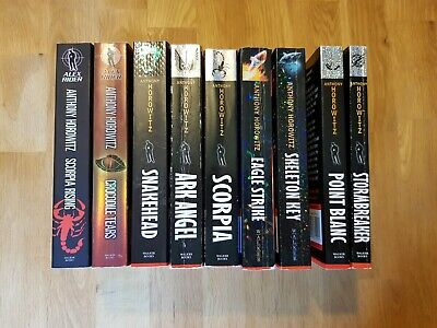 Alex Rider Collection 9 Book Set Pack Anthony Horowitz young adults spy novels