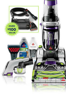 Bissell ProHeat 2X Revolution Pet Pro 2283 With Free Bonus Items Ships Free