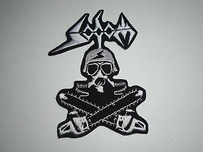 Sodom Iron On Embroidered Patch