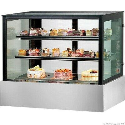 Cake & Refrigerated Food Display Bonvue 900x700x1100mm Triple Glazed Commercial