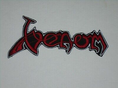 Venom Black Metal Iron On Embroidered Patch