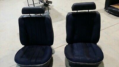 Holden Hq Statesman front seats