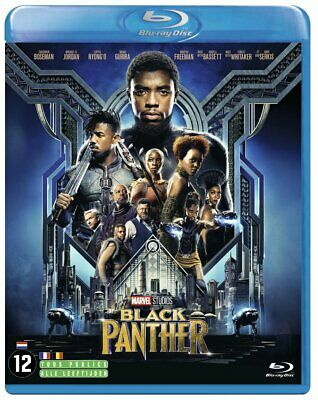 Black panther film américain culte 2018 blu-ray, DVD action fantastique