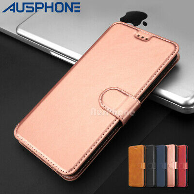 For iPhone 11 Pro XS MAX XR 78 Plus Magnetic Leather Wallet Case Flip Card Cover