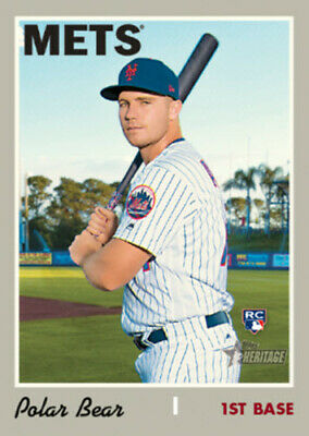 PETE ALONSO 2019 Topps Heritage NICKNAME VARIATION 5x7 #/49 NEW YORK METS