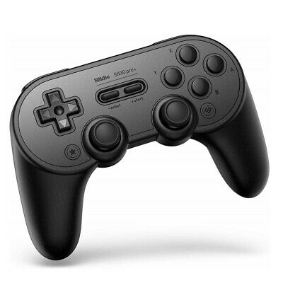 8BitDo SN30 Pro+ Bluetooth Gamepad - Black Edition (80GD)(Fast Delivery!)