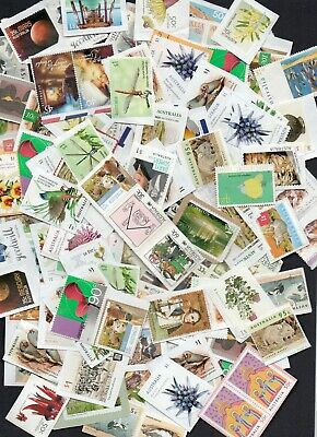 Australia DOMESTIC UNFRANKED Stamps - Face Value $85 ON PAPER