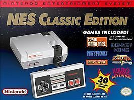 Authentic Nintendo Classic Edition NES Mini Game Console USA + FREE CONTROLLER
