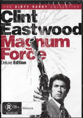 Magnum Force - Clint Eastwood - New & Sealed Region 4 Dvd Free Local Post