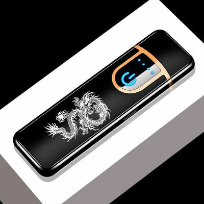 USB Charging Electronic Lighter Windproof Slim Personality Electric Heating Wire