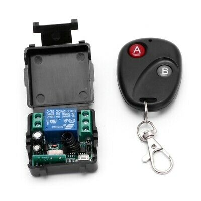 1CH Wireless Remote Control Switch 10A DC 12V 433MHz Transmitter with Receiver