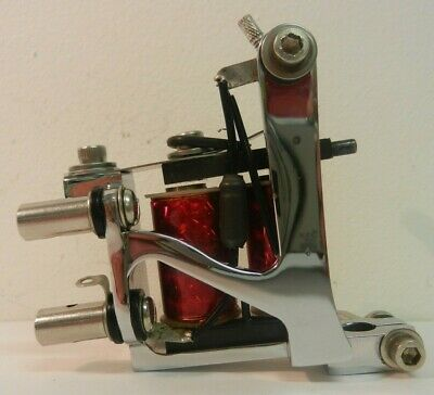 chrome national deluxe tattoo machine liner ***MINT CONDITION***