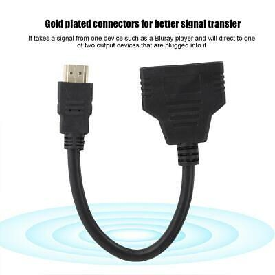 HDMI Hub HD 1080P Video Switcher Switch Splitter Cable for PC TV HDTV DVD Xbox