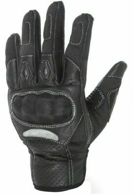 Carbon Fiber Hard Knuckle All weather Biker Motorbike Motorcycle Gloves