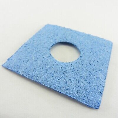 Cleaning Soldering Iron Tip Sponge 60mm x 60mm Pad Welding Solder Iron Blue