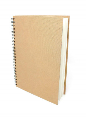 ArtWay Enviro - Spiral Bound A4 Sketch book - Portrait - 70 Pages 35 Leaves of -