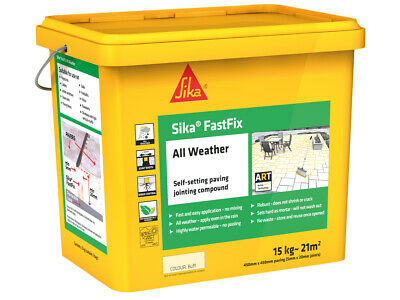 Everbuild Sika� FastFix All Weather Buff 15kg