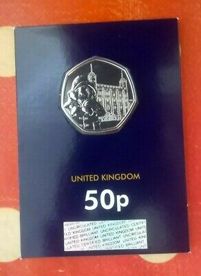 OUT NOW !! The 50p Paddington Bear at the Tower of London Coin - BU