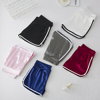 Women's Maternity Summer Stretch Wear Pregnant Women Lace Safety Shorts Pants XL