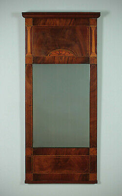 Antique Early 19th.c. Mahogany Pier Glass c.1835.