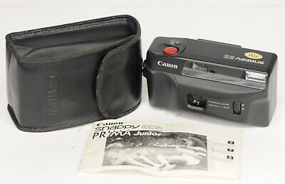 Canon Snappy EZ 35mm Point and Shoot Compact Camera Prime Lens 35mm (3872BL)
