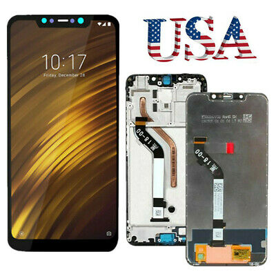 OEM Display LCD Touch Screen Digitizer ± Frame Assembly For Xiaomi Pocophone F1