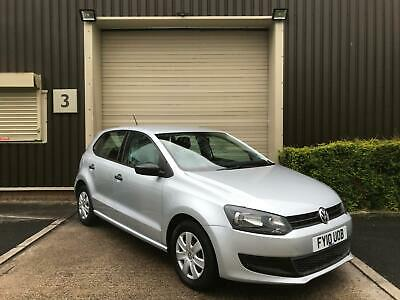 (10) 2010 Volkswagen Polo 1.2 60ps 2010MY S Silver Manual Ideal First Car 5dr