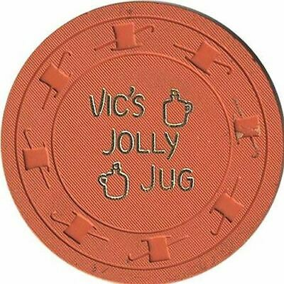 Vic's Jolly Jug Casino Henderson NV $1 Chip 1965