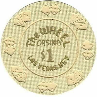The Wheel Casino Las Vegas NV $1 Chip 1990s