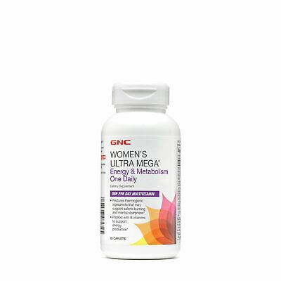 GNC Womens Ultra Mega - Energy  Metabolism One Daily