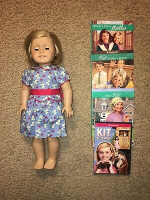American Girl /Pleasant Company Kit Kitteridge Doll/ Excellent Condition & Books