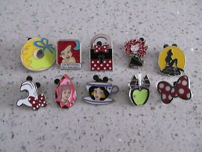 Disney Trader Pins Lot of 10 Princess Set Lanyard Pins Disneyland Disney World