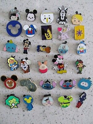 Disney Trader Pins Lot of 30 Disneyland Disney World Lanyard Pins