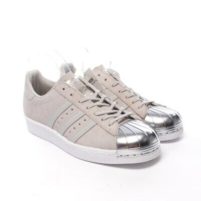 adidas Superstar 80s W Weiß und Pink. Schuhe Damen Sneakers Leather