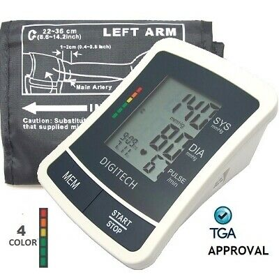 Digital Blood Pressure Monitor Automatic Arm Type with Large Cuff