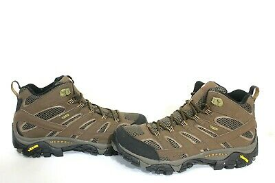 42ee25a8 RIGHT MEN'S MERRELL Moab Mid Gore-Tex Tan Hiking Boot J87311 Us 13 ...