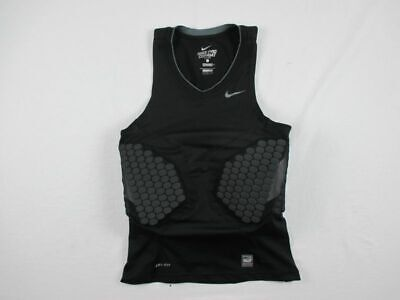 NEW Nike - Black Dri-Fit Padded Compression Sleeveless Shirt (Multiple Sizes)