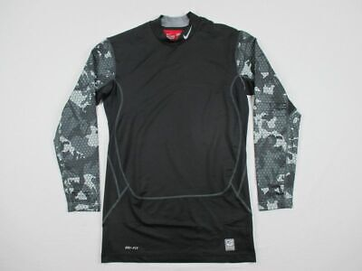 NEW Nike - Black Compression  Long Sleeve Shirt (Multiple Sizes)