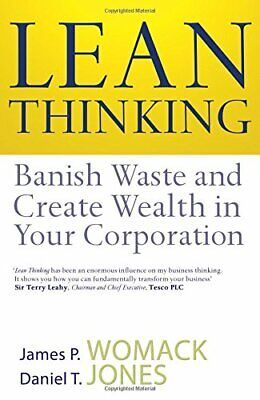 Lean Thinking: Banish Waste And Create Wealth I... by Jones, Daniel T. Paperback