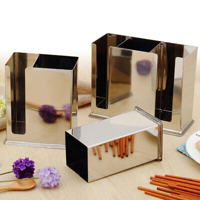 Storage Boxes Square Steel Restaurant Kitchen Chopsticks Spoon Storage Rack B
