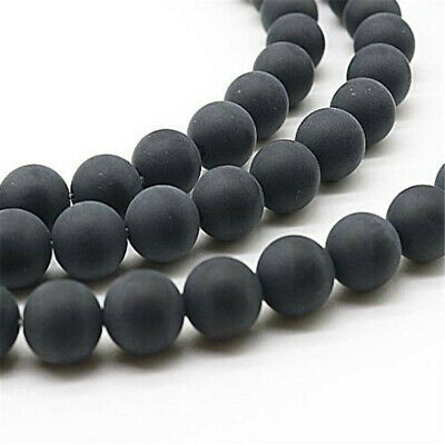 """4 mm frosted agate Loose bead Making Jewelry 1PCS 15"""" Charm Strand ELEMENTS"""