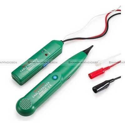 Telephone Phone RJ Cable Wire Line Tone Generator Probe Tracer Tracker Tester