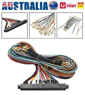 56 Pin Connector Wiring Harness For Jamma Multigame Board Arcade Machine AU
