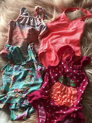 Baby Girl Clothes Swimsuit Bundle 12-18 Months Monsoon Mothercare F&F