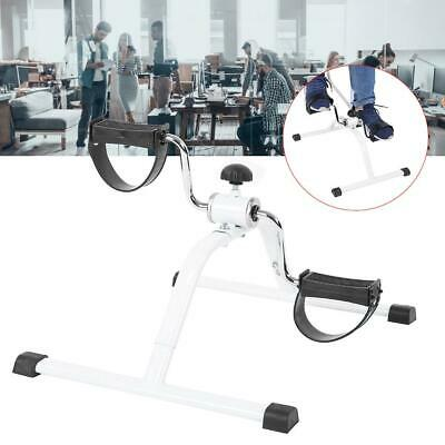 Portable Pedal Exerciser Cycle Bike Leg Arm Desk Fitness Exercise Household CO