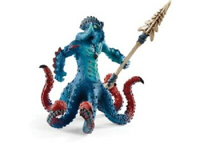 Schleich Eldrador Model 42449 - Monster Kraken With Weapon