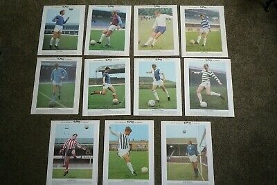Typhoo Tea International Football Stars 1969 - VGC 2nd Series - Pick Cards Need
