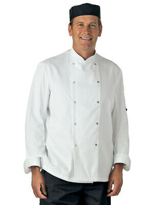 Dennys Best Selling Long Sleeve Chefs Jacket- DD08- Kitchen- Cook (All Sizes)