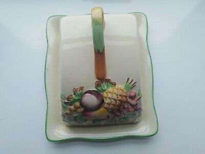 A.J.Wilkinson pottery decorative cheese dish with lid